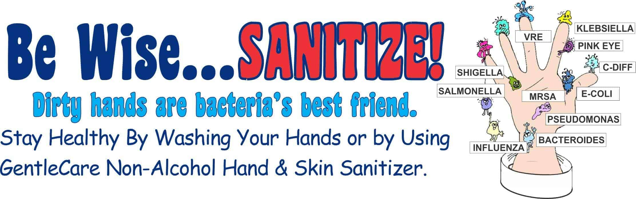 Be Wise and Sanitize!